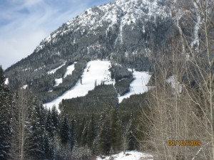 Wapiti Ski Hill Runs 2009