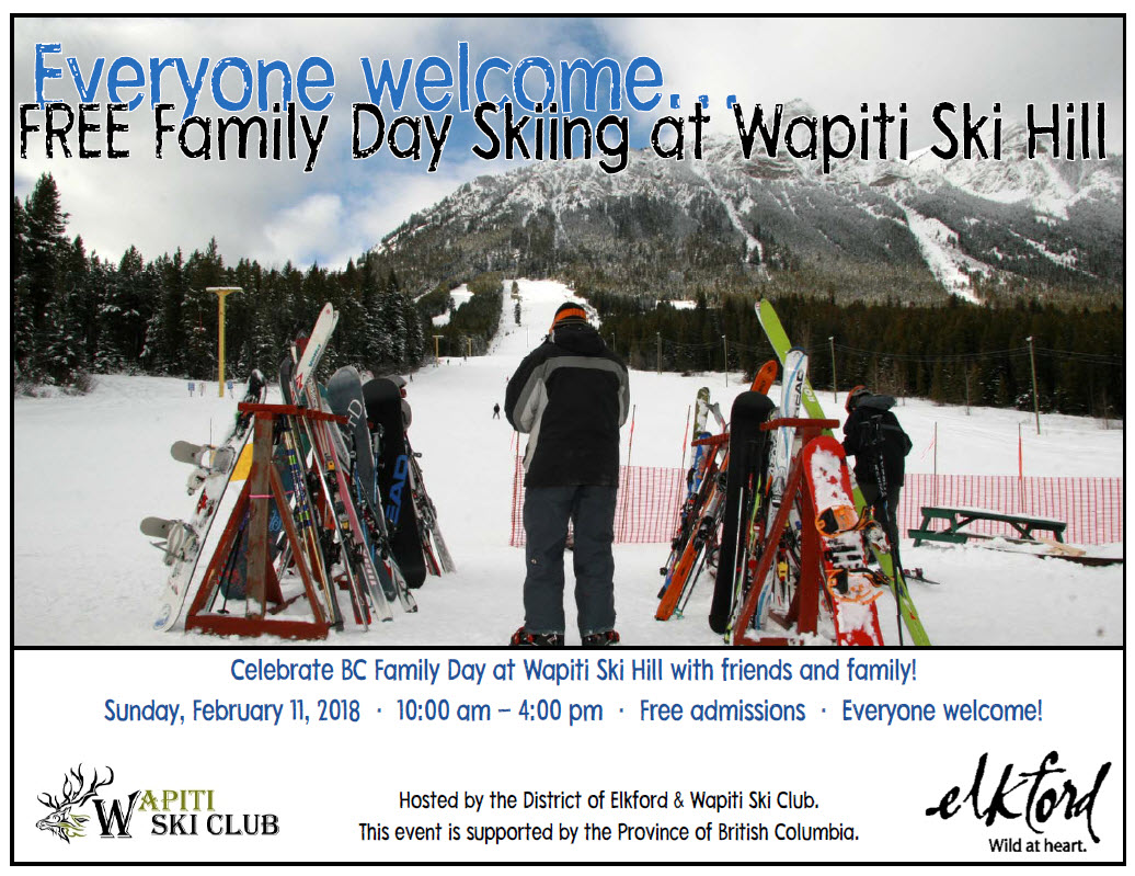 Wapiti Feb 11 Free Day